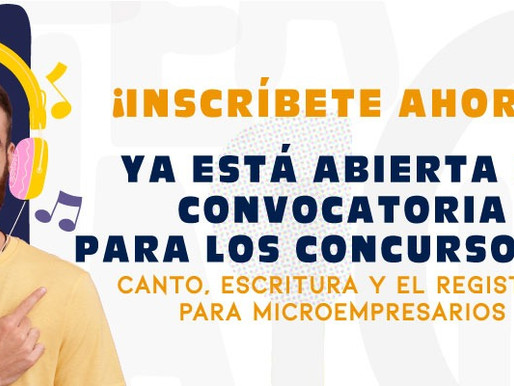 Abren convocatoria a concurso para jóvenes cantantes, escritores y microempresarios del Tolima