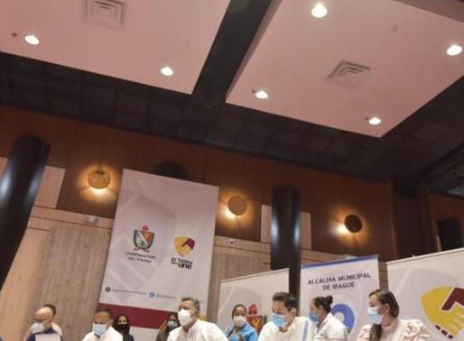 Autoridades buscan declarar toque de queda nocturno, ley seca y alerta roja hospitalaria en Tolima.