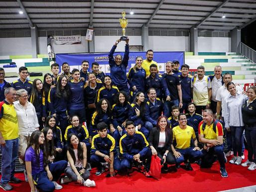 Colombia se corona por primera vez campeón en un Sudamericano de Esgrima en Ibagué.