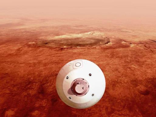 Después de siete meses de viaje el rover Perseverance aterrizó por fin en Marte