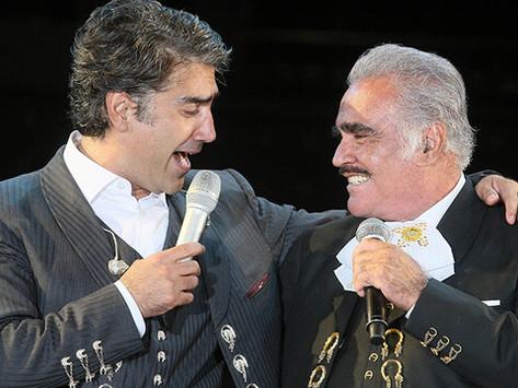 Alejandro Fernández confiesa por qué no visita a su padre Vicente Fernández en el hospital