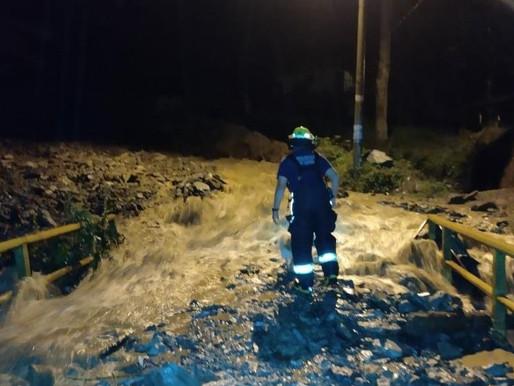 Autoridades activan protocolos de emergencia por intensas lluvias en Ibagué