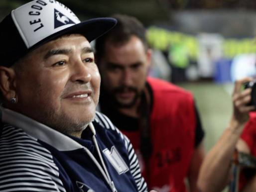 ¡falleció Diego Maradona!