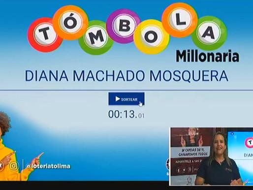 La Lotería del Tolima jugó la Tómbola Millonaria, un concurso adicional para premiar a sus clientes