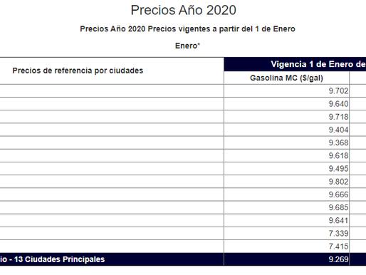 Gasolina arrancará 2020 sin alzas, pero el ACMP sube 185 pesos