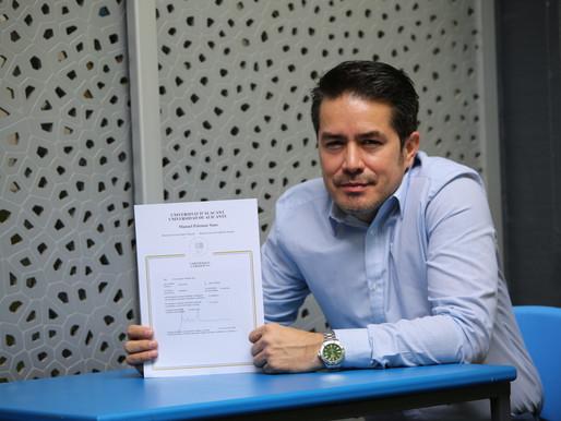 Universidad de Alicante premia a docente Unibagué