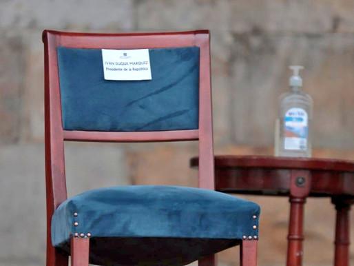 Las reacciones al episodio de la 'silla vacía' con el nombre de Duque