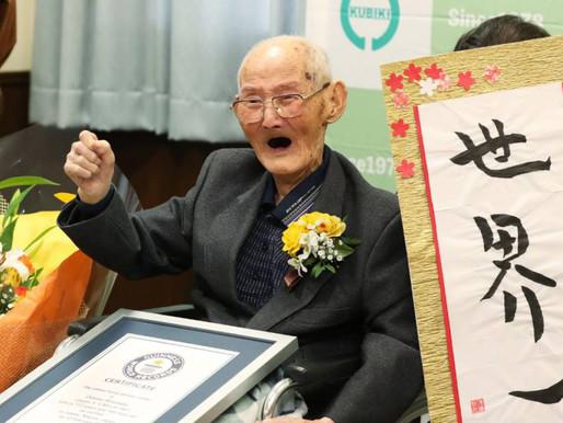 Murió el hombre más viejo del mundo con 112 años