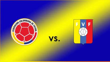 Colombia vs. Venezuela se jugará el 9 de octubre a las 6:30 p.m.
