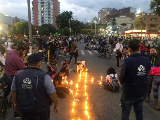Ibagué no reportó hechos vandálicos durante las manifestaciones de ayer martes.