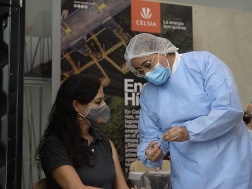 Celsia inicia mañana la vacunación de sus colaboradores en el Tolima