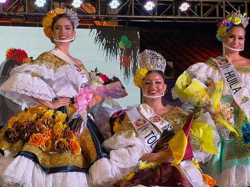 La Señorita Tolima se coronó Reina Nacional del Bambuco 2021