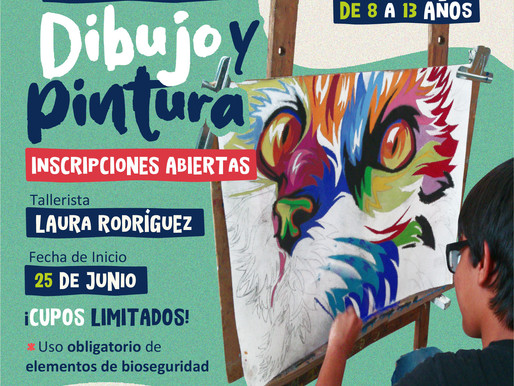 Taller de Dibujo y Pintura para niños en el MAT