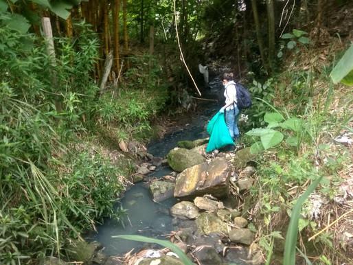 Se realizó jornada de recuperación de la quebrada Aguas Claras