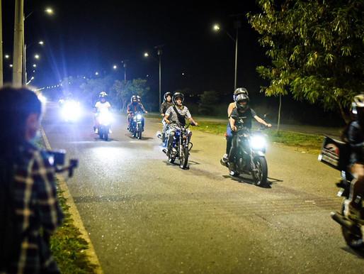 Autoridades inmovilizaron más de 60 vehículos en operativos contra carreras ilegales