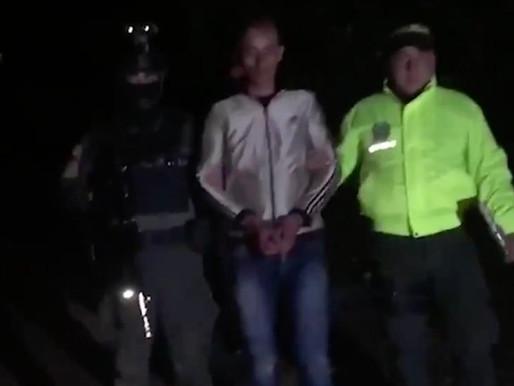 Capturan a alias 'El Flaco', implicado en el asesinato de líderes sociales