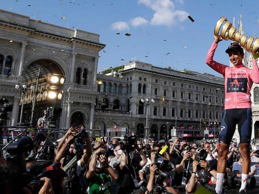 ¡Egan Bernal, campeón del Giro de Italia!