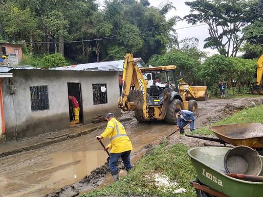 Alcaldía de Ibagué adelanta acciones de mitigación en el Baltazar por creciente del río Combeima