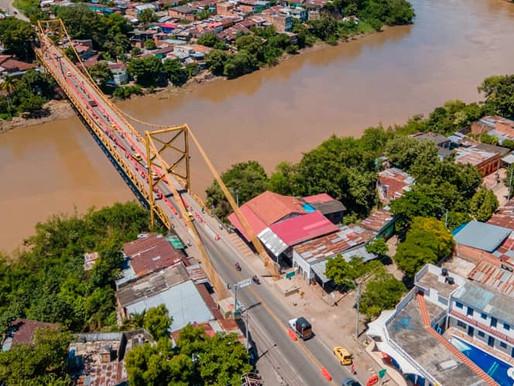 Durante un mes estará cerrado el puente entre Girardot y Flandes