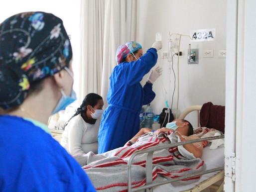 La ocupación de camas sigue en aumento en el Hospital Federico Lleras Acosta E.S.E
