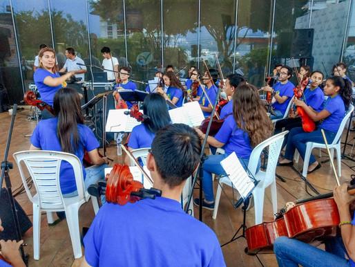Este fin de semana asista al festival internacional de orquestas sinfónicas