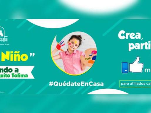 'Creando a Comfenalquito Tolima' entregará incentivos a niños en su día