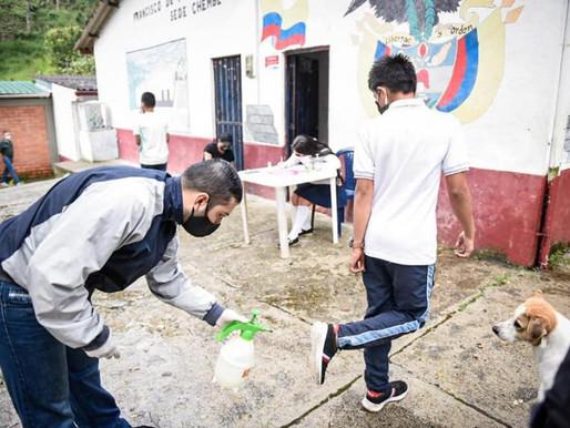 Gobierno Nacional invertirá más de $ 2.500 millones en alternancia educativa en Ibagué