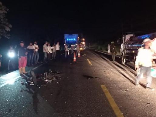 Accidente en moto cobró la vida de un joven de 16 años