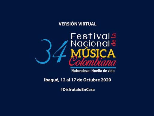 El Festival Nacional de Música Colombiana será virtual