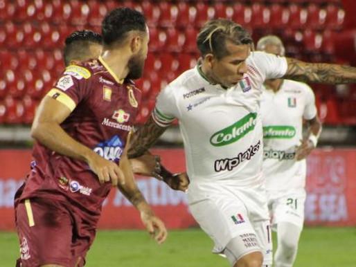 Ya están los 8 clasificados de la Liga Colombiana, Tolima perdió y no pudo ser líder.