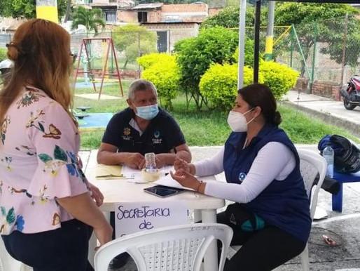 En el barrio Ricaurte se tomarán pruebas gratuitas de Covid-19