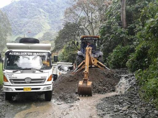 Departamento de Tránsito del Tolima ordena cierre de la vía Villa Restrepo - Juntas.