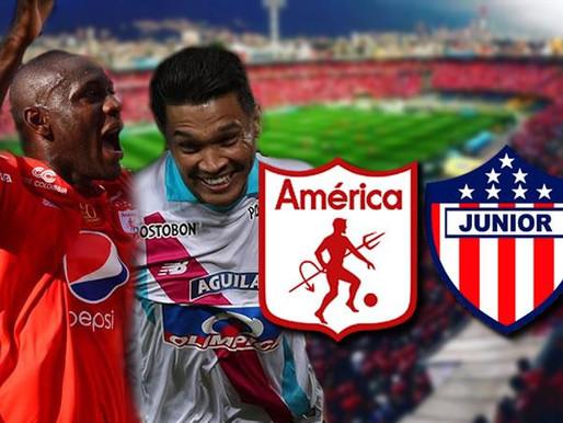 Nuevo horario para la gran final América vs. Junior
