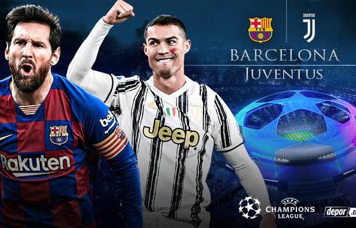 Ronaldo vs Messi hoy en la Champions