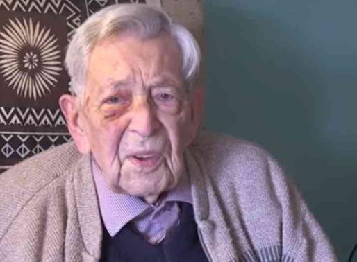 Murió a los 112 años el hombre más viejo del mundo