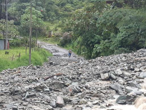 Dos emergencias por lluvias se registraron en Ibagué durante las últimas horas