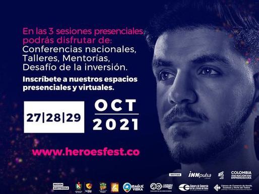 Llegan a Tolima Héroes Fest y la Feria de la Reactivación