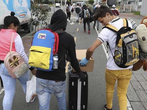 Colombia anuncia plan para legalizar a migrantes venezolanos