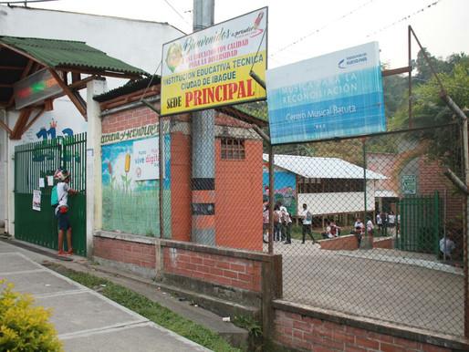 Construirán moderna escuela de Boquerón, sede de la institución educativa Ciudad Ibagué