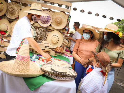 Día del Sombrero Tolimense superó las expectativas entre artesanas y visitantes a la feria
