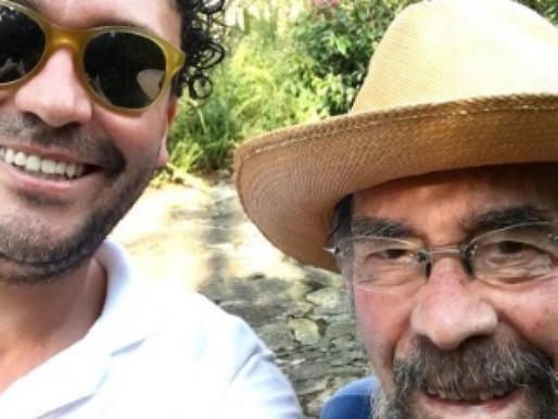 """Andrés Cepeda presenta su proyecto íntimo """"Las canciones que cantaba mi papá"""""""