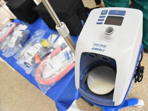 Celsia entrega al Hospital Federico Lleras cánulas de alto flujo para atender pacientes con covid-19