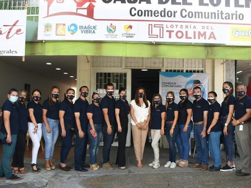 Inaugurada en Ibagué la primera Casa del Lotero en el país, proyecto pionero de atención social.