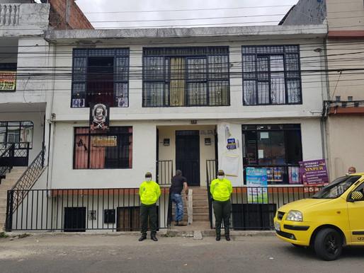 Autoridades realizaron extinción de dominio a vivienda del barrio Restrepo