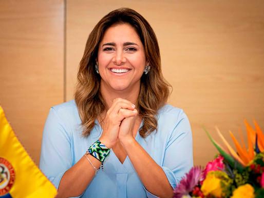 María Juliana Ruíz, esposa del presidente Iván Duque, dio positivo para coronavirus