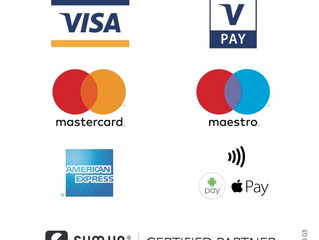 Nous acceptons les paiements par carte bancaire