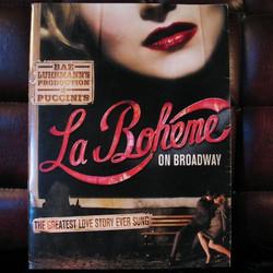 La Boheme Broadway Poster
