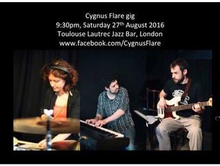 Cygnus Flare gig and cruise ship audition