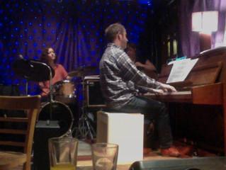 Jazz at Trinity, Cygnus Flare, Caroline Scott Trio, MO Jazz Orchestra, Guru snare, BBC Elstree conce
