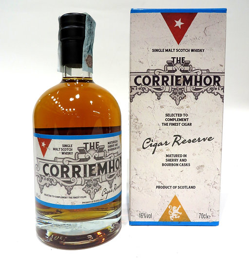 The Corriemhor Cigar Reserve Whisky 70 cl